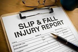 Slip and Fall Injury Report
